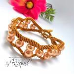 Curvy And Wavy Bracelet Tutorial